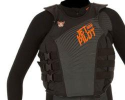 Jetpilot Matrix Pro Nylone Vest Charcoal/Orange
