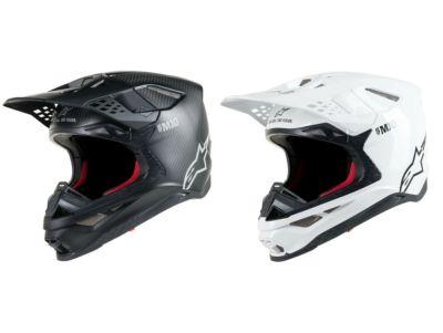 Alpinestars Supertech M10 Solid Carbon Helmet