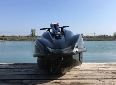 SX-R 1500 with Wave Racing Sponsons - SX-R.com