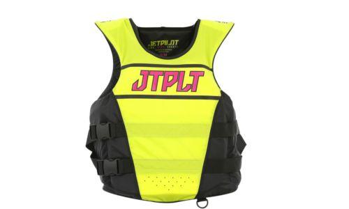 Jetpilot LADIES RX S/E Nylon ISO 50N Pullover Race Vest Yellow/Pink 19076