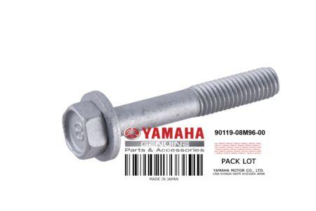 Yamaha SJ700 Cylinder Head Bolt with Washer 90119-08M96-00