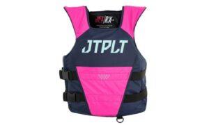 Jetpilot LADIES RX S/E Nylon ISO 50N Pullover Race Vest Navy/Pink 21047